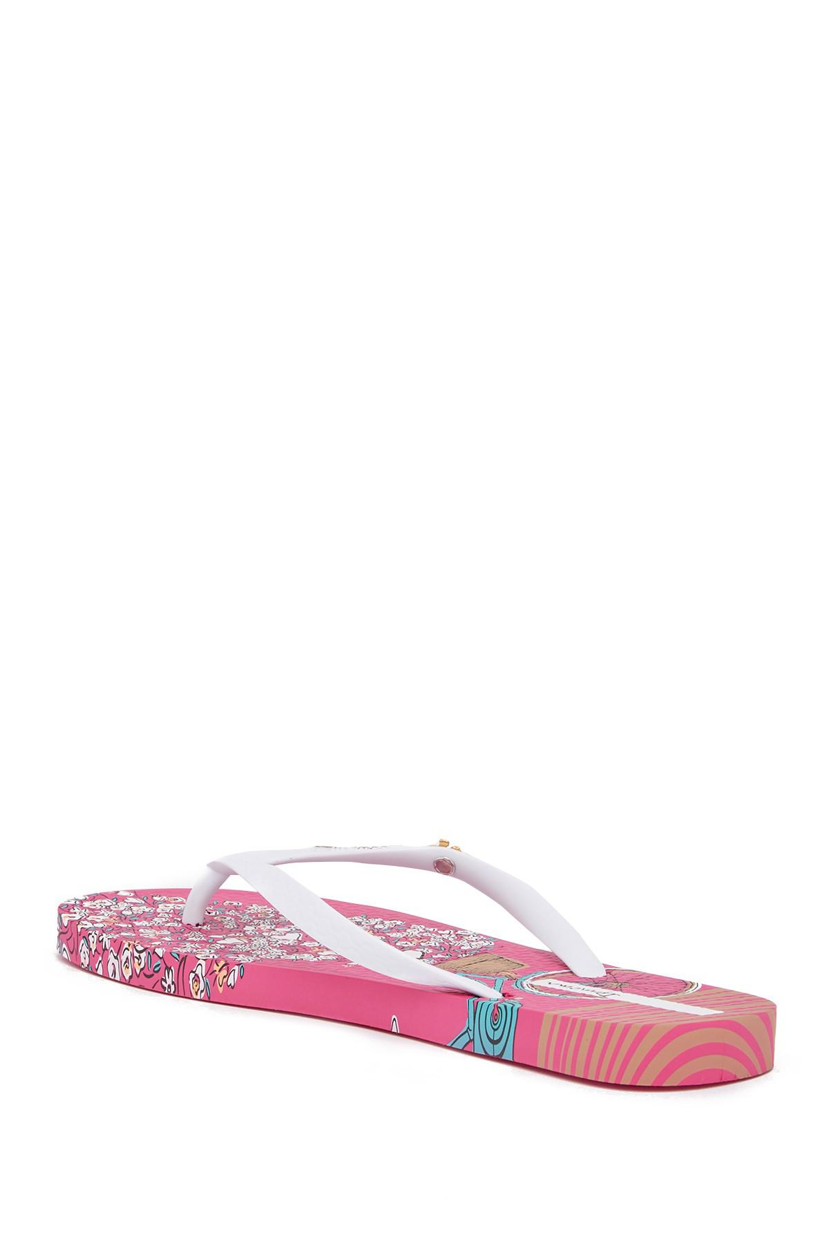 d1c4808762f Lyst - Ipanema Bouquet Flip Flop (women) in Pink