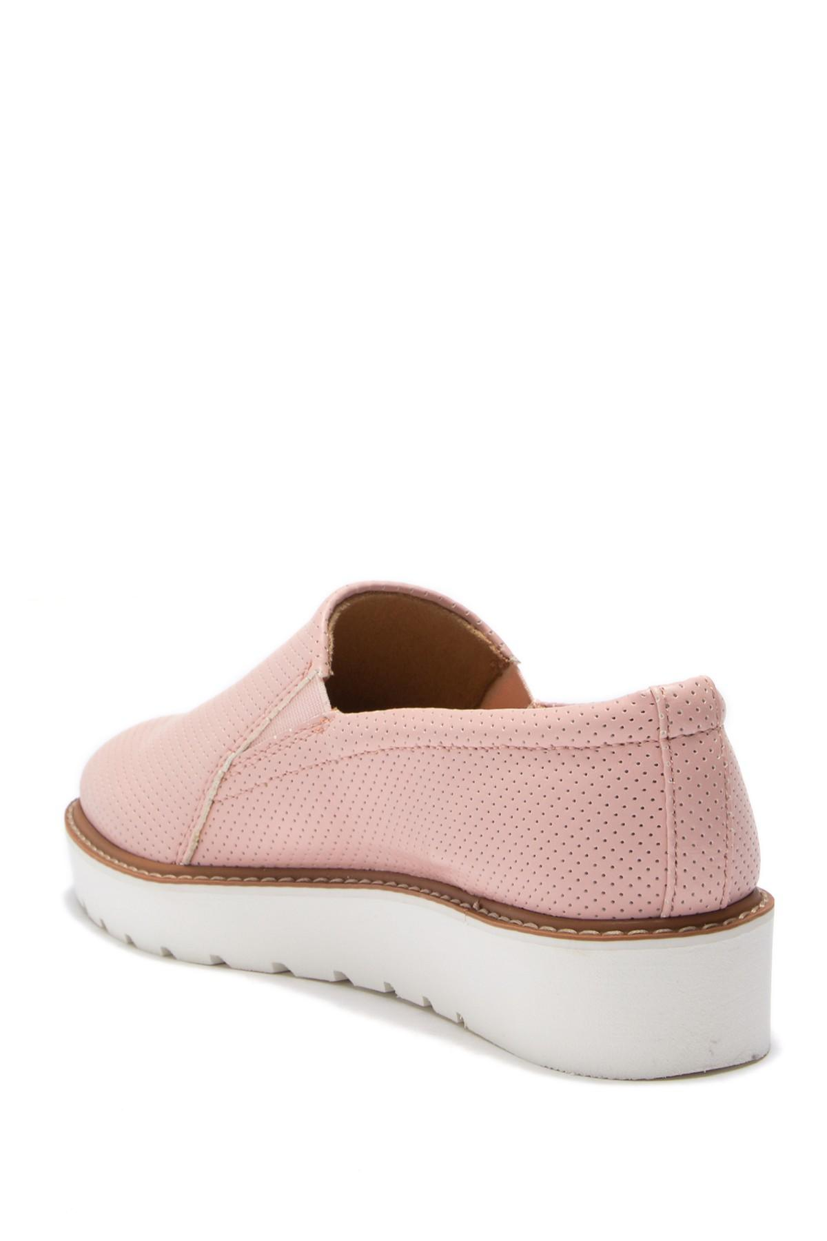 2c36323e9e4 Naturalizer - Pink Effie 2 Platform Loafer - Wide Width Available - Lyst.  View fullscreen