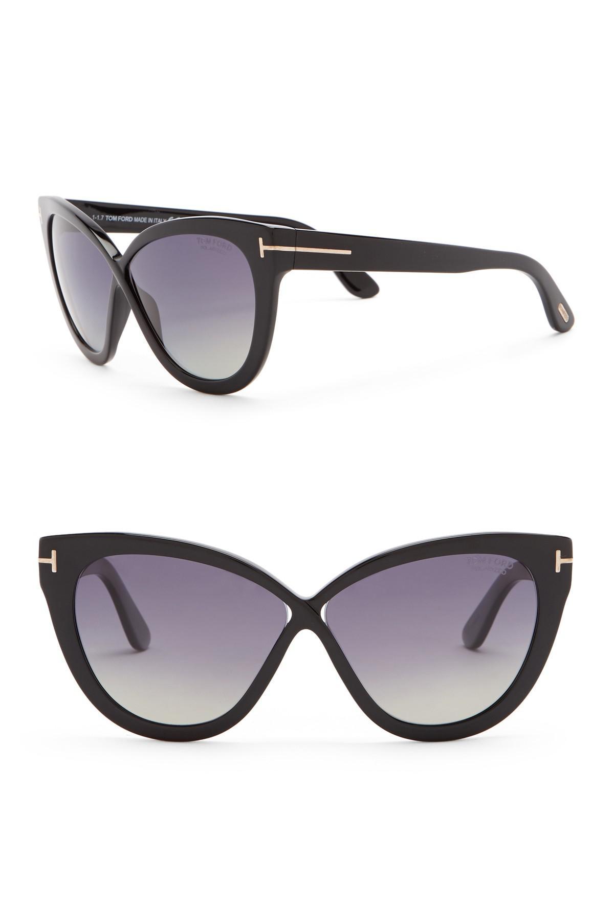 427162e1e0a59 Lyst - Tom Ford Arabella 59mm Cat Eye Sunglasses