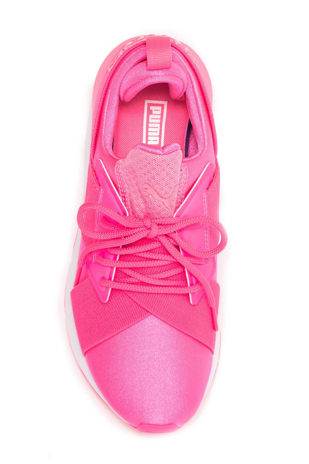 6b6928403ad5 PUMA Muse Satin Ep in Pink - Save 49% - Lyst