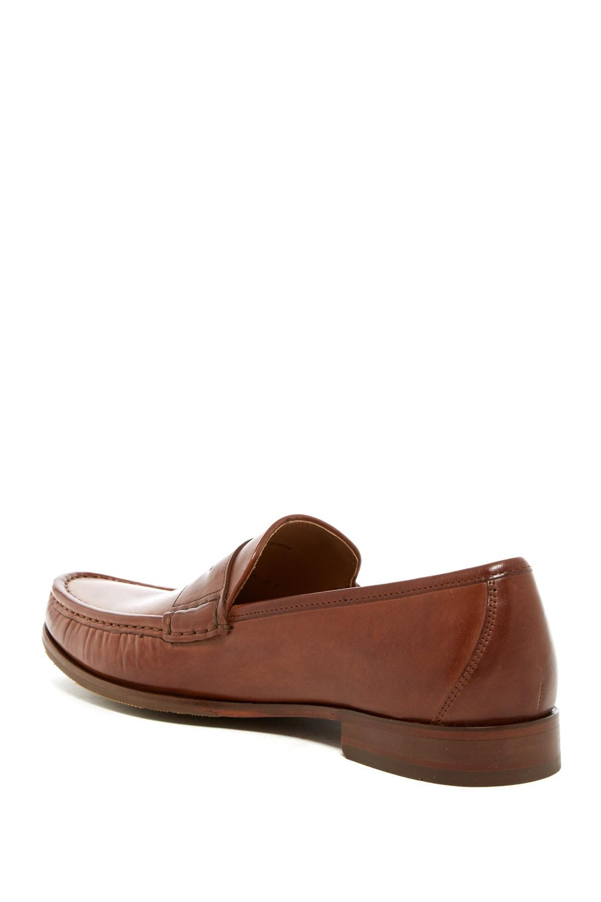 26715822cd5 Cole Haan - Brown Aiden Grand Ii Penny Loafer - Wide Width Available for Men  -. View fullscreen