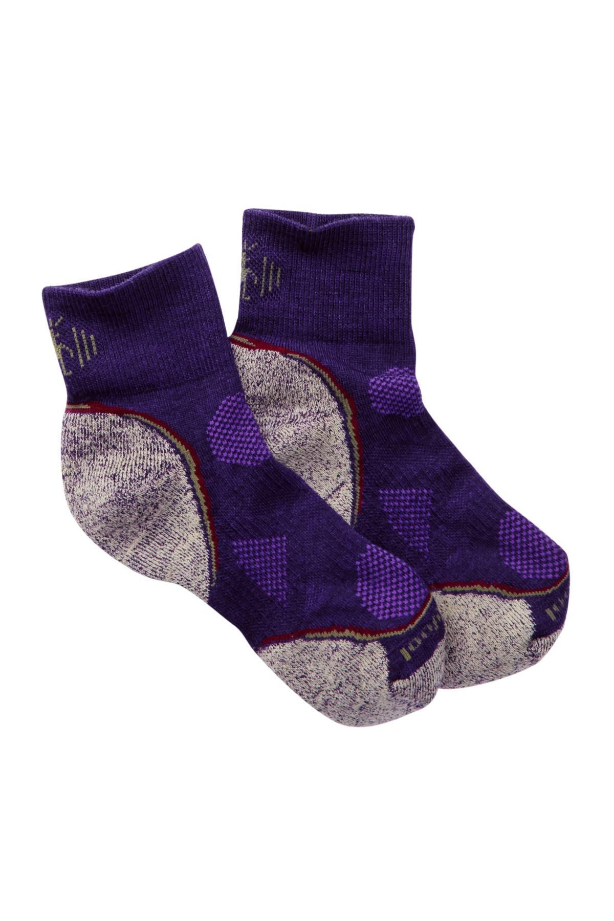 Lyst smartwool phd outdoor light mini crew socks in purple gallery aloadofball Image collections