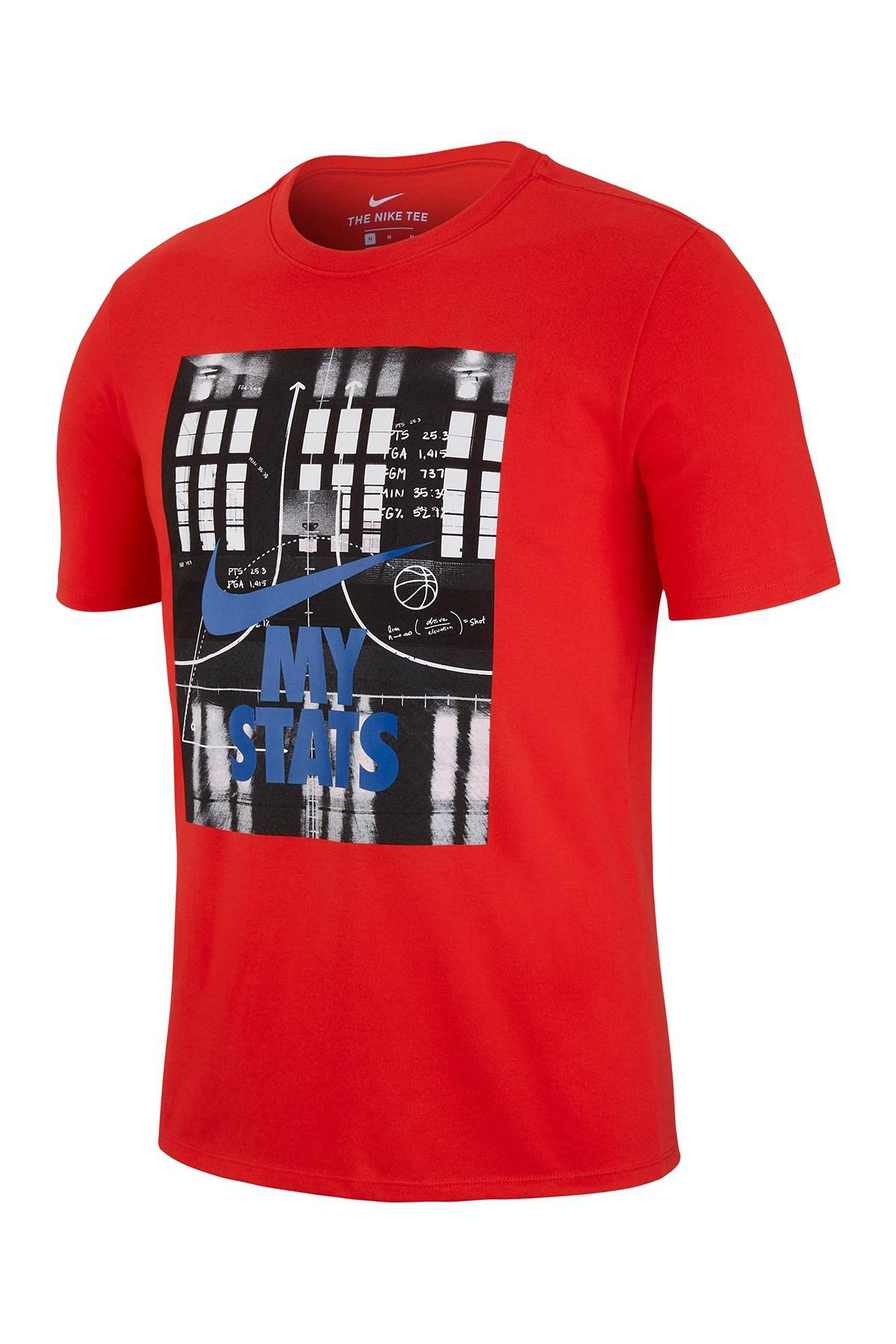 d06b008a9de Lyst - Nike Basketball Stats Dri-fit Tee in Red for Men