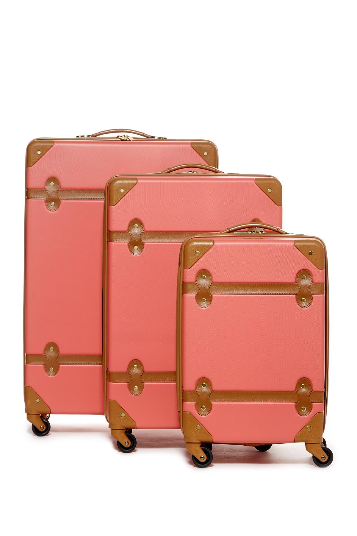 Diane von furstenberg Saluti 3-piece Hardside Set in Pink | Lyst