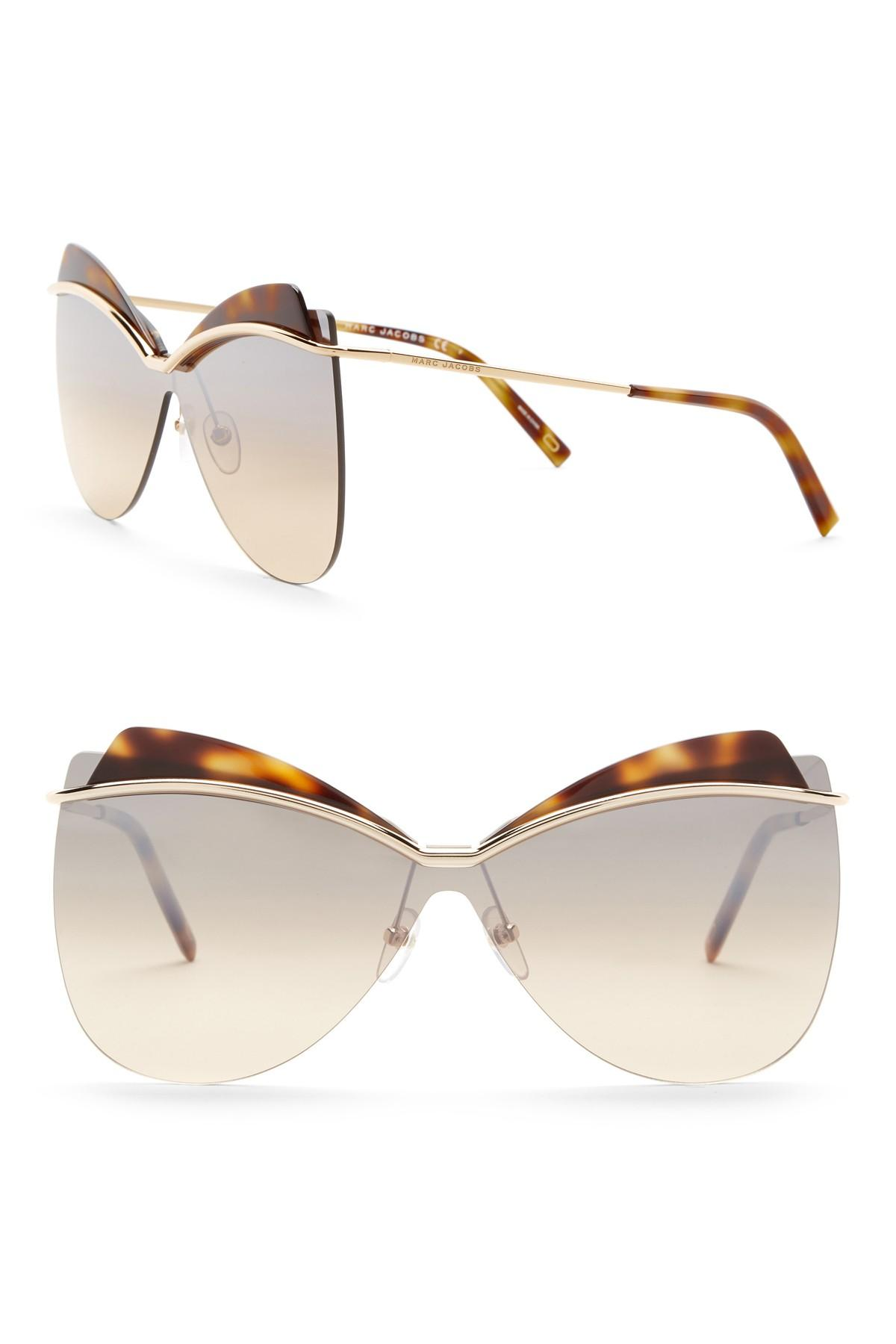 Marc Jacobs 73mm Cat Eye Sunglasses
