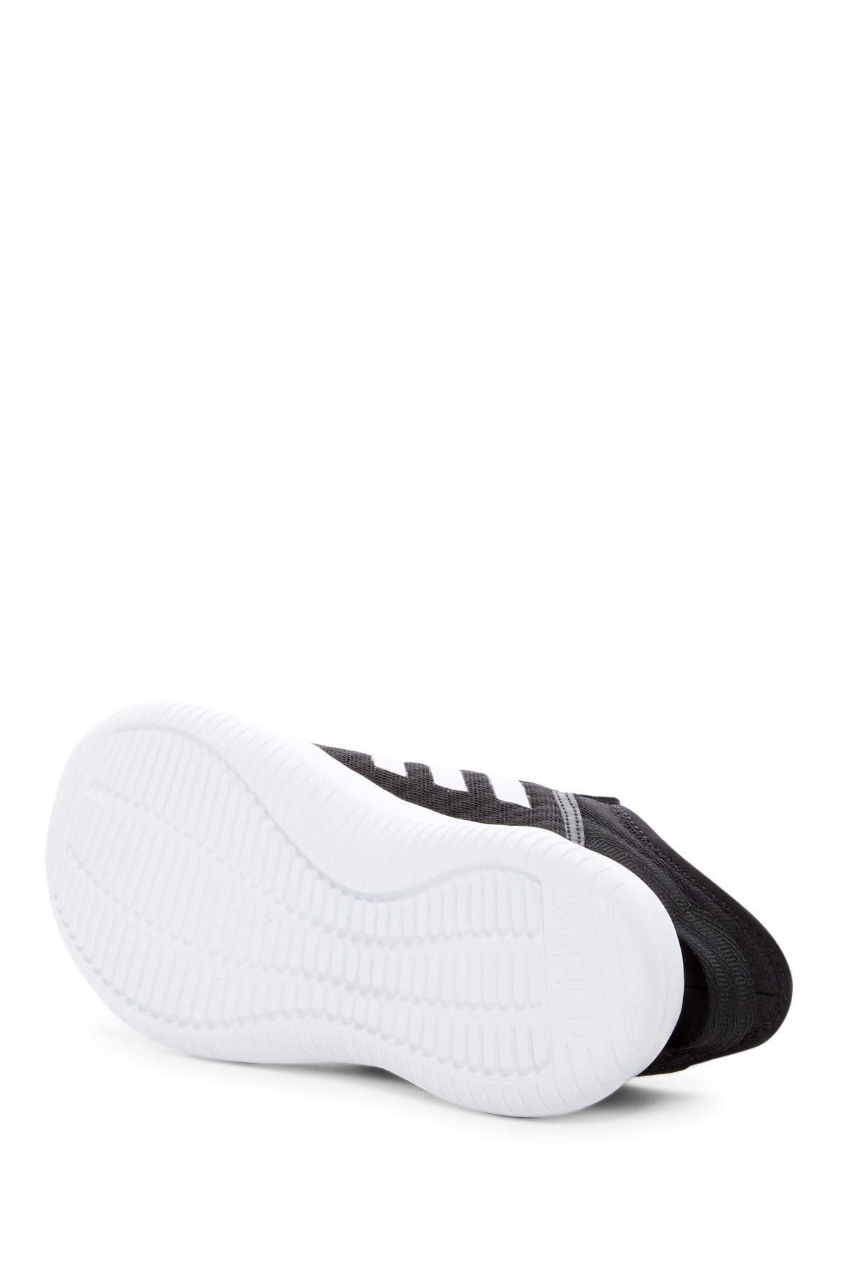 lyst adidas cloudfoam qt - flex sportliche sneaker in schwarz für männer