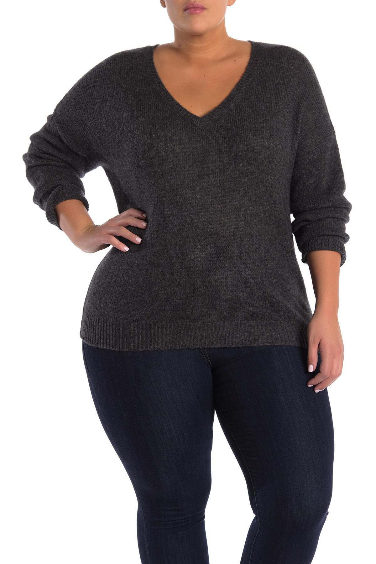ac821c1f000 Lyst - Naked Cashmere Crystal Cashmere Sweater (plus Size) in Gray