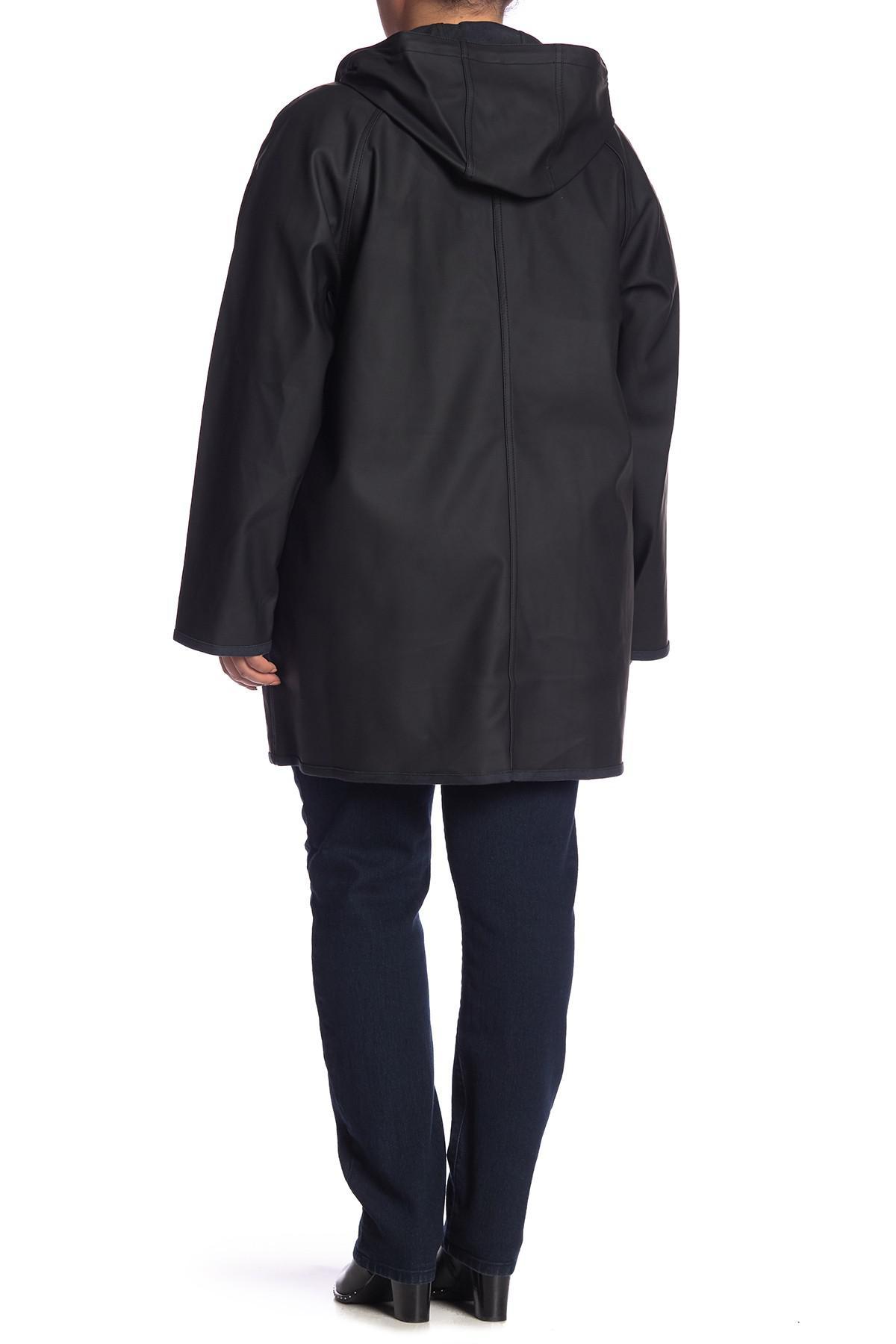 66df241459c Levi s - Black Waterproof Raincoat (plus Size) - Lyst. View fullscreen