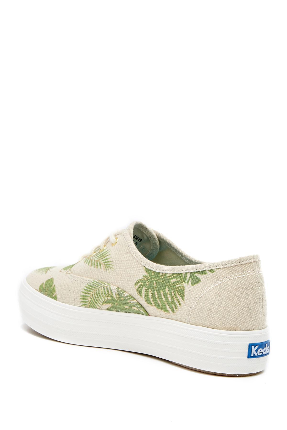 Keds Triple Tropical Platform Sneaker hwDdlyK