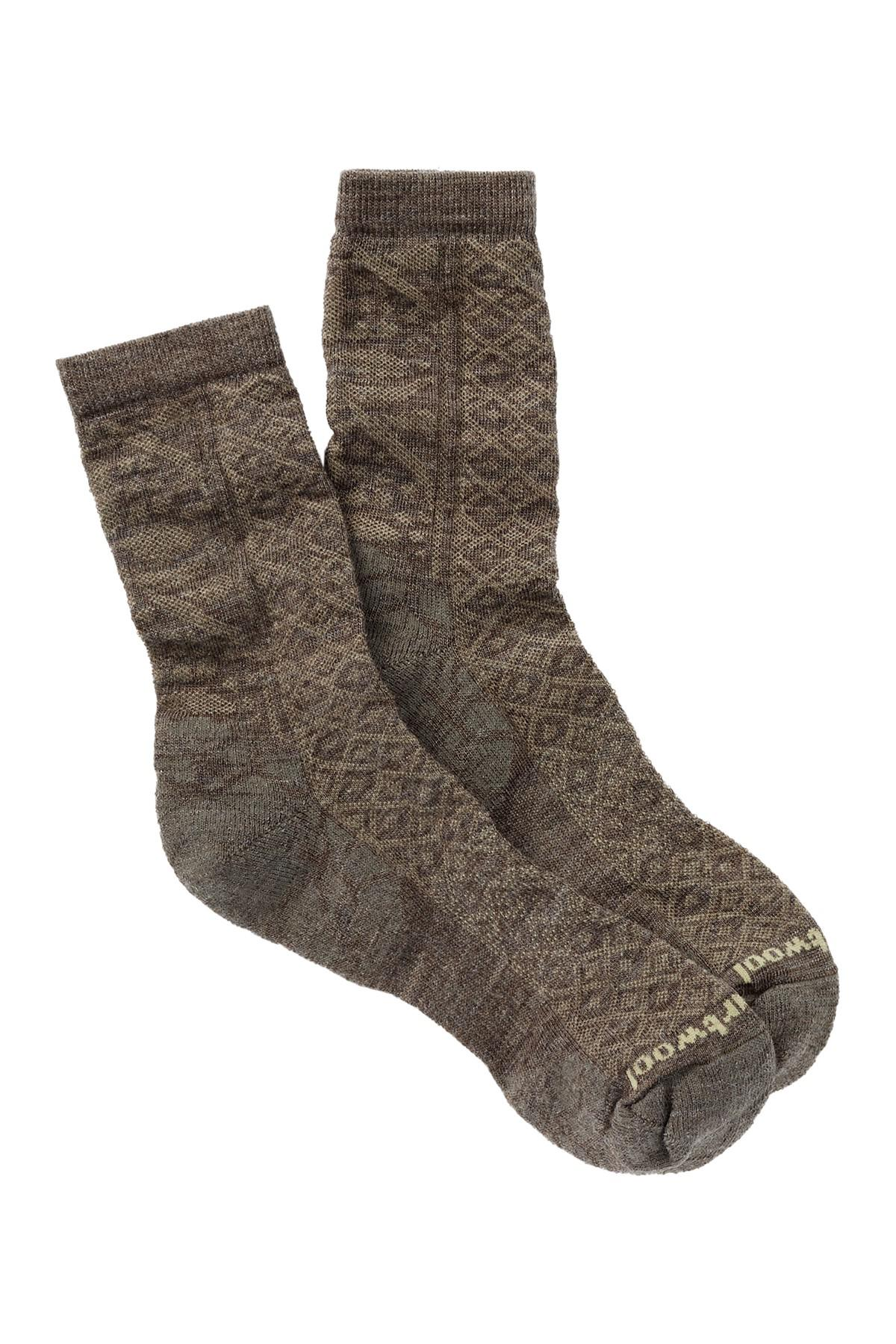 7694cacfc9bd1 Smartwool - Brown Lily Pond Crew Socks - Lyst. View fullscreen