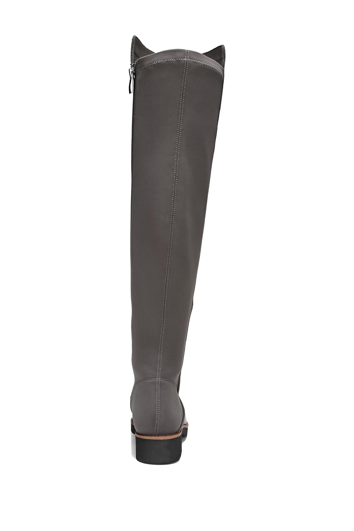 df30eb2c42d Franco Sarto - Black Benner Leather Over-the-knee Boot - Lyst. View  fullscreen
