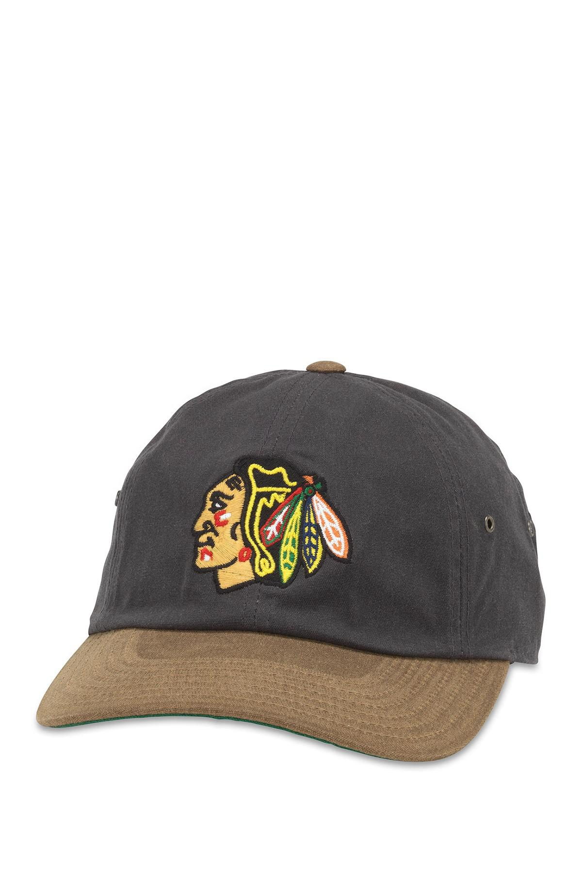 71db4b16b26 Lyst - American Needle Nhl Chicago Blackhawks Waxed Taylor Baseball ...