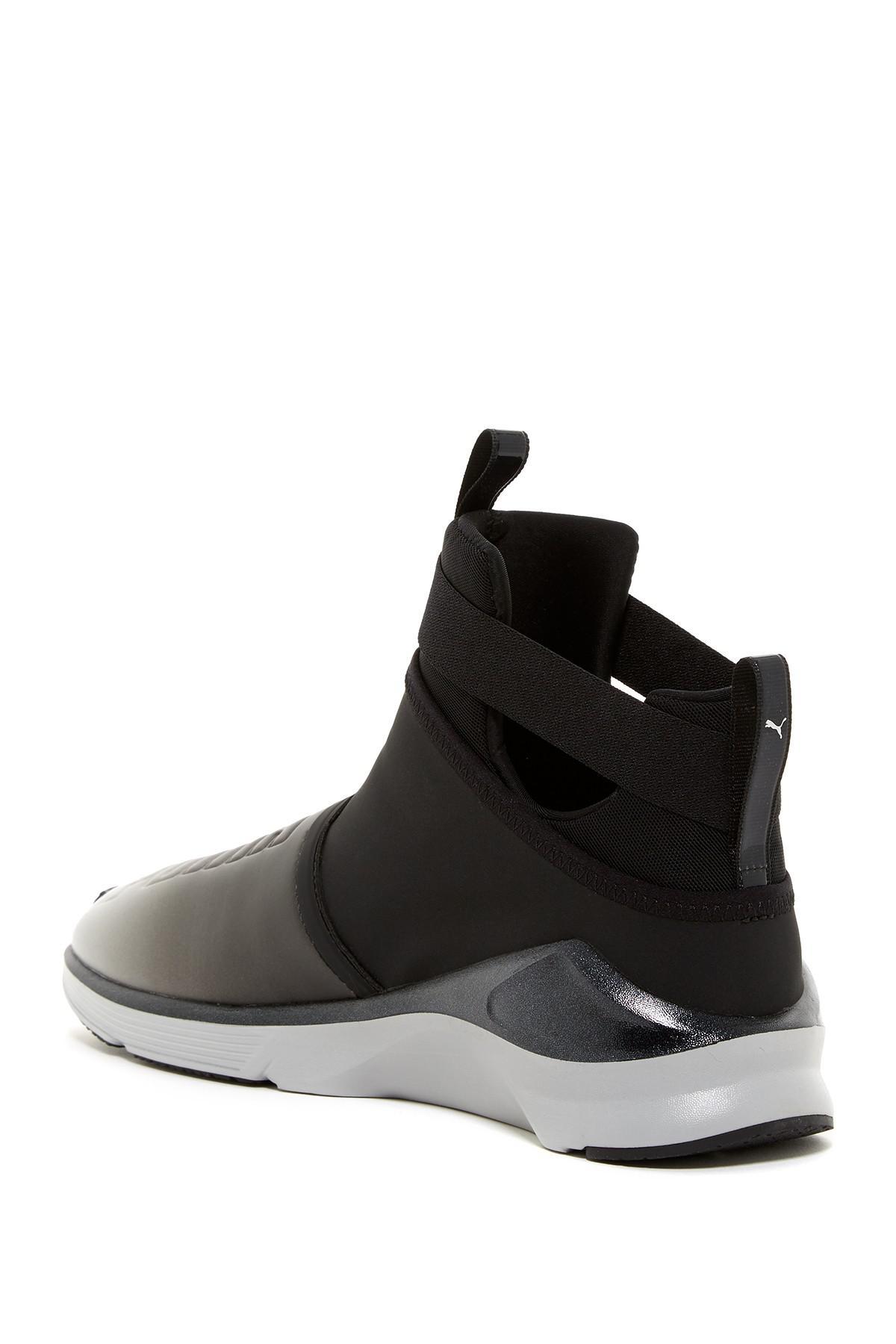 50931685da64 Lyst - PUMA Fierce Strap Metallic Sneaker in Black for Men