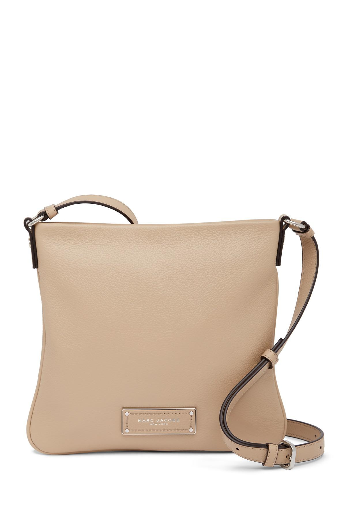 a8727fb83ff14 Lyst - Marc Jacobs Too Hot To Handle Sia Leather Crossbody Bag