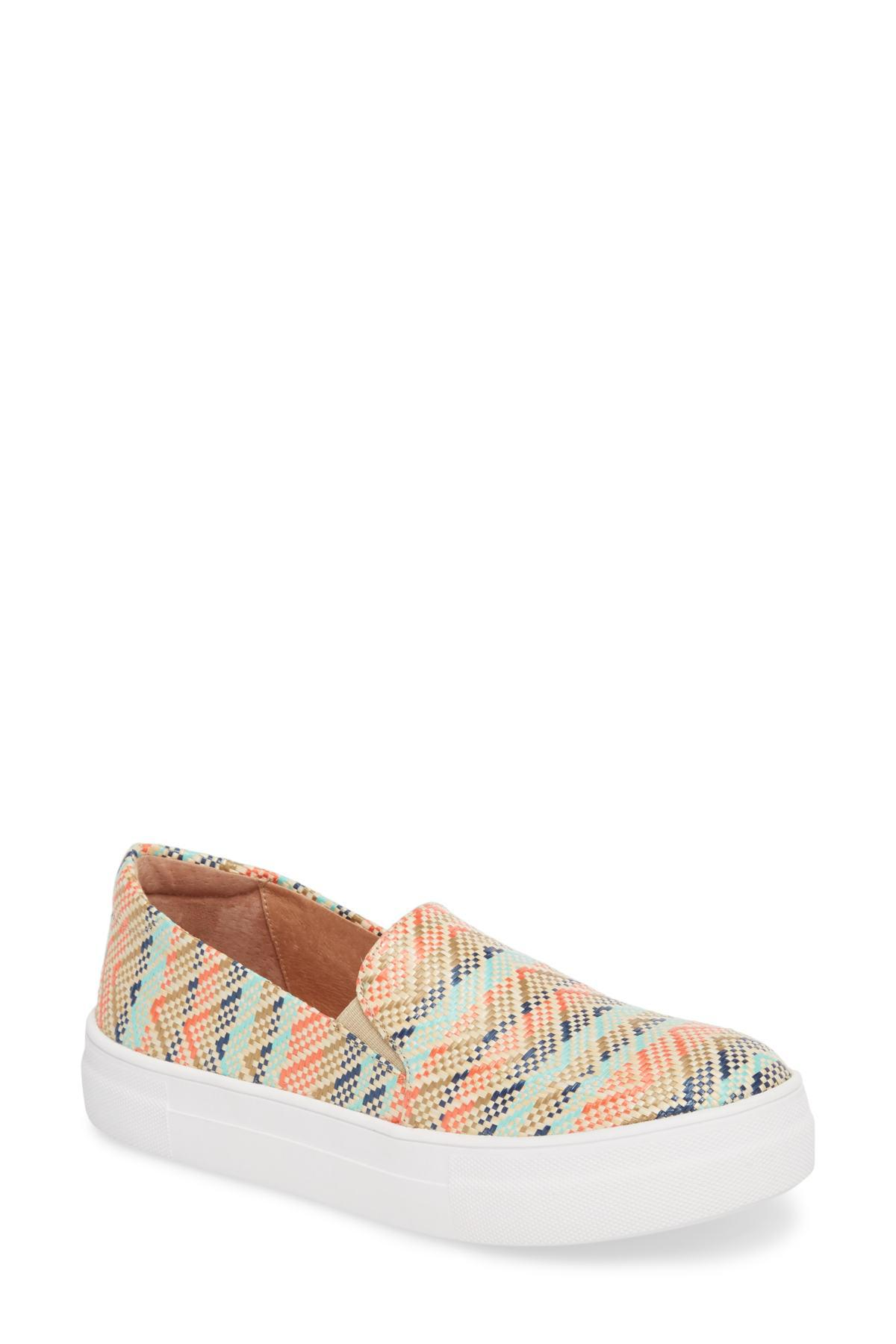 a3a7926cc6c Lyst - Caslon (r) Alden Slip-on Sneaker (women) in Pink