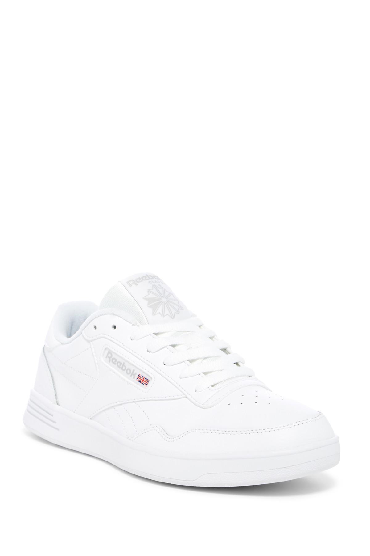 c11900221717 Reebok - White Classic Club Memt Leather Sneaker - Wide Width for Men - Lyst.  View fullscreen