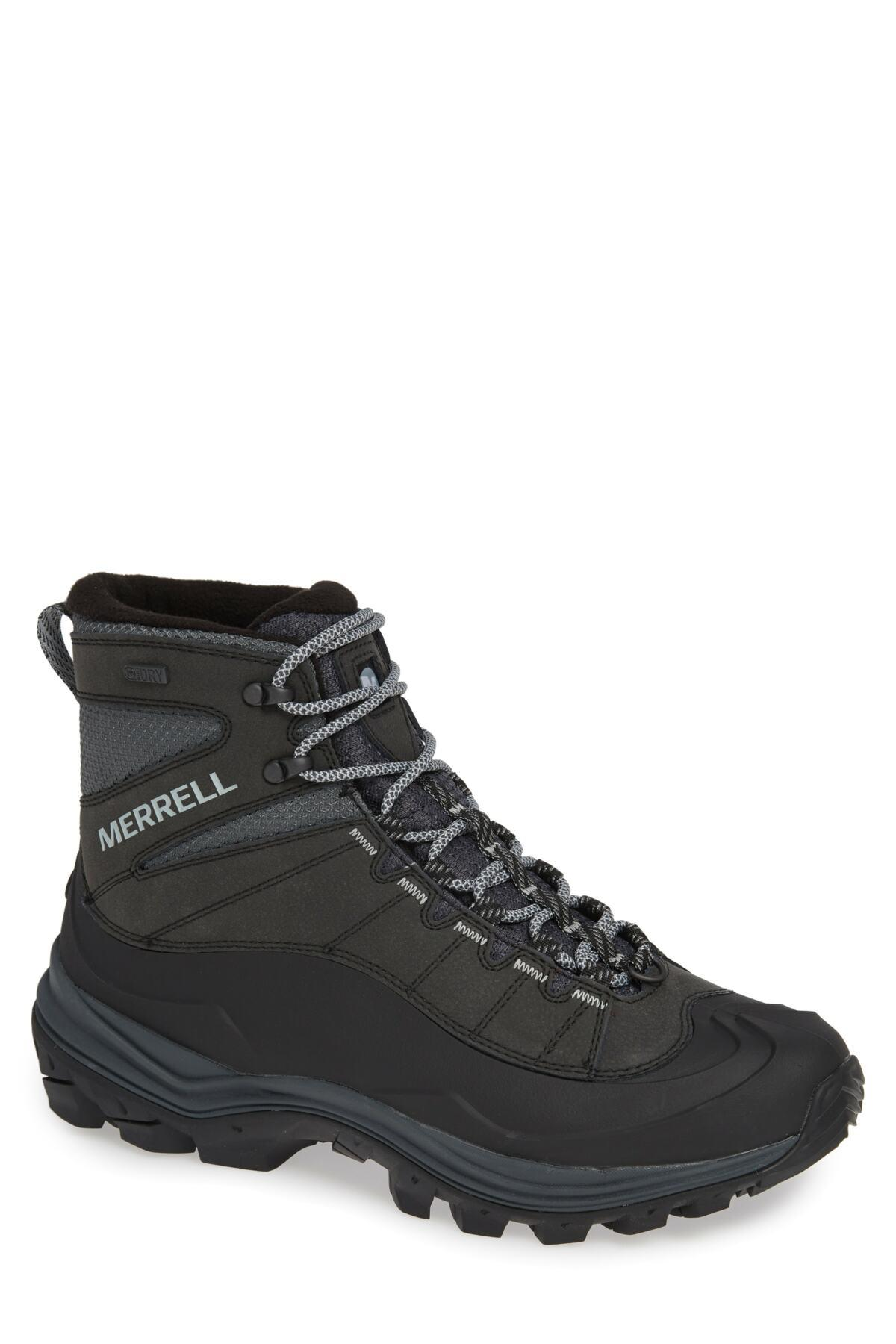 12f61a0a Lyst - Merrell Thermo Chill Waterproof Snow Boot (men) in Black for Men