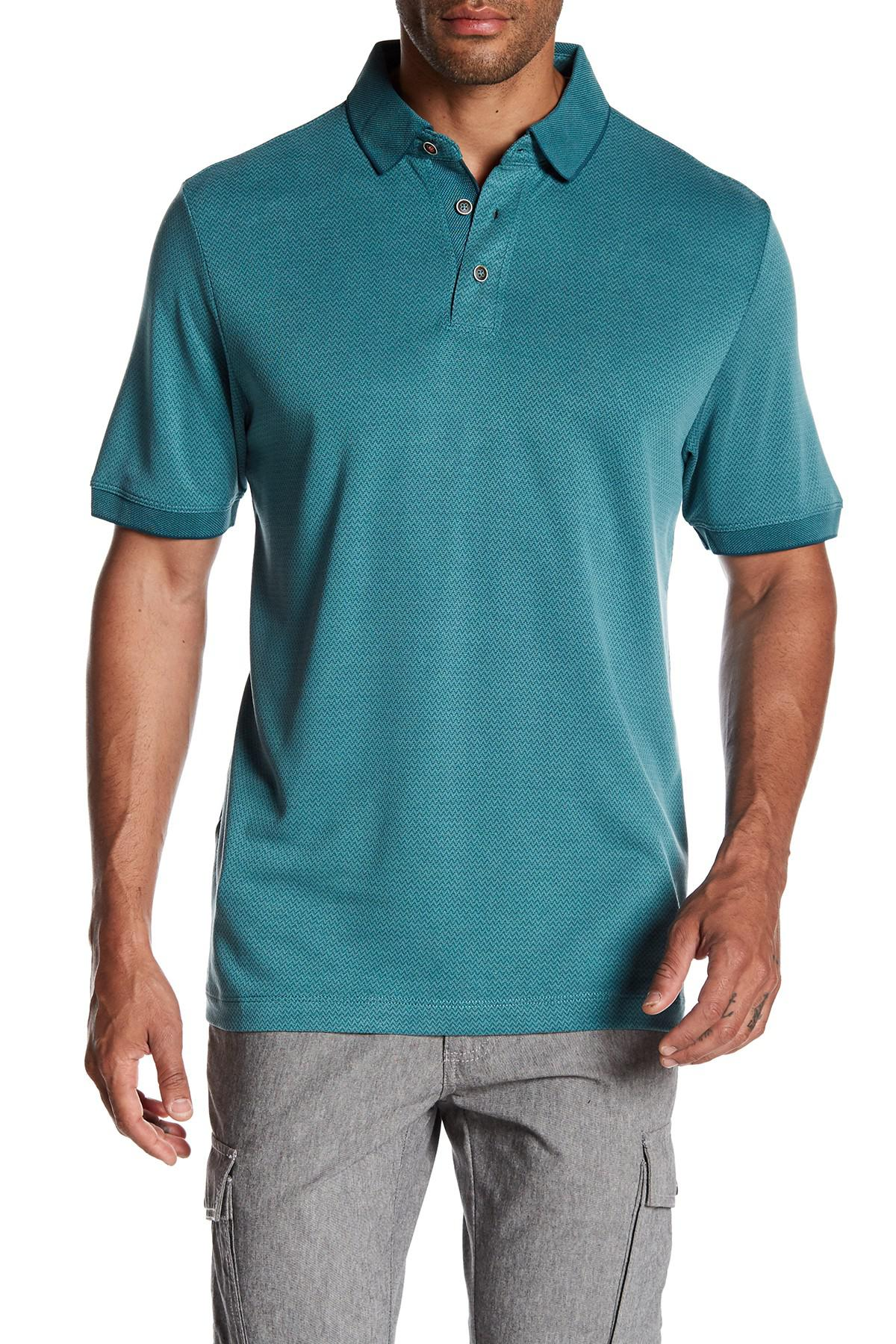 Tommy bahama paradise breeze polo shirt in blue for men lyst for Tommy bahama polo shirts on sale