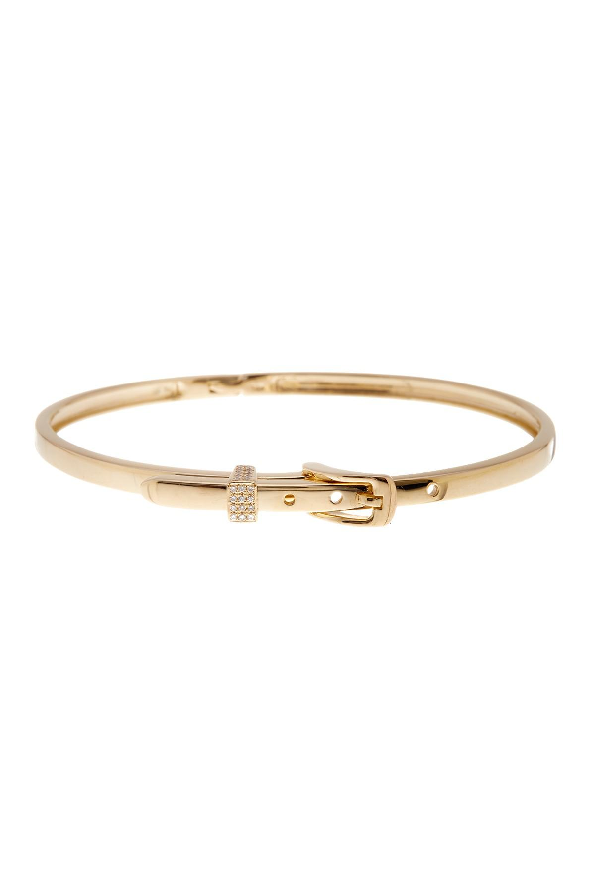 bangle bracelet white image diamond bangles bracelets thin in gold panel