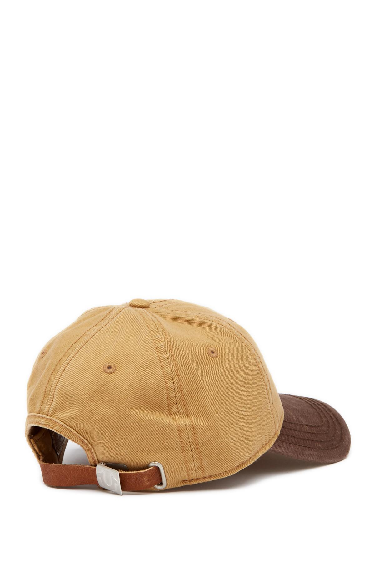 Lyst - True Religion Embroidered Buddha Baseball Cap in Brown for Men 24ecb6f43a8e
