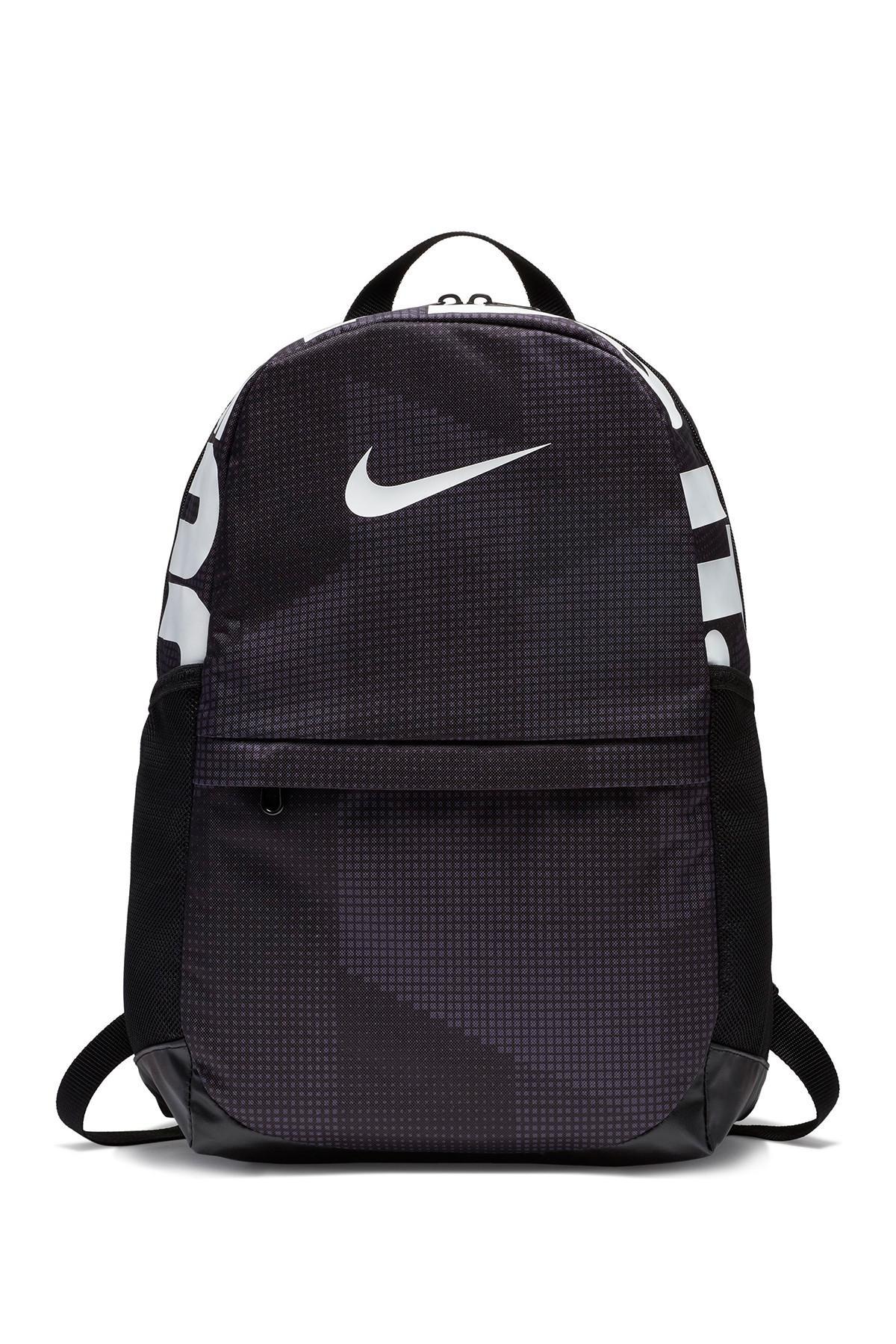 Lyst - Nike Printed Backpack in Black 00cae45e33