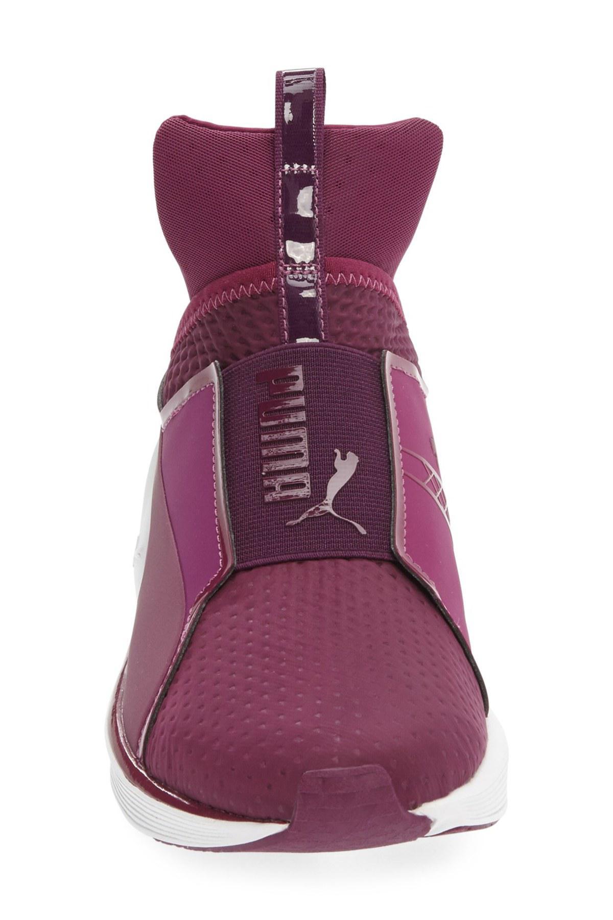 PUMA Fierce High-Top Sneaker in Purple for Men - Lyst 94d4efadd