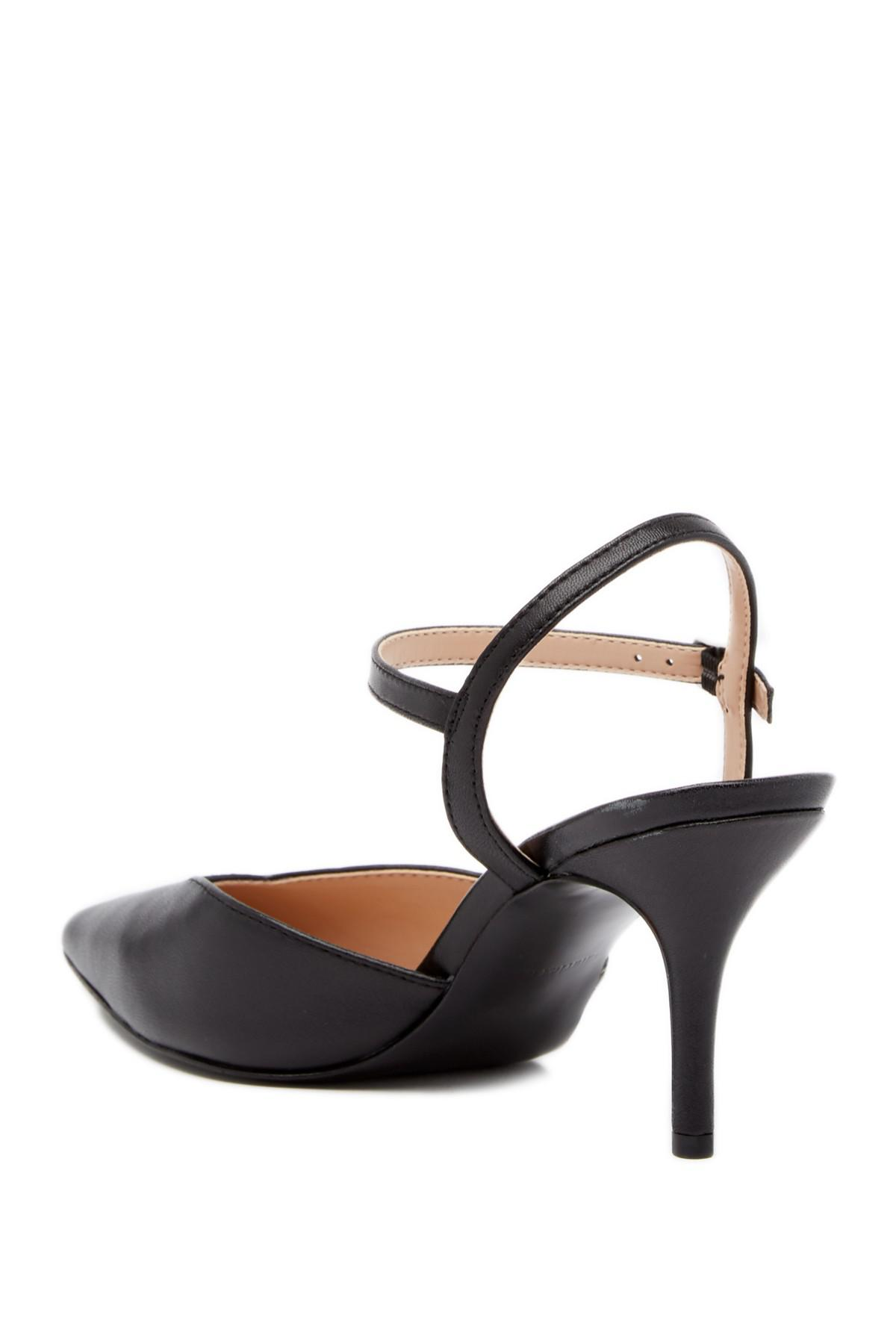 Charles David Arden Ankle Strap Heeled Pump O8Zx1e