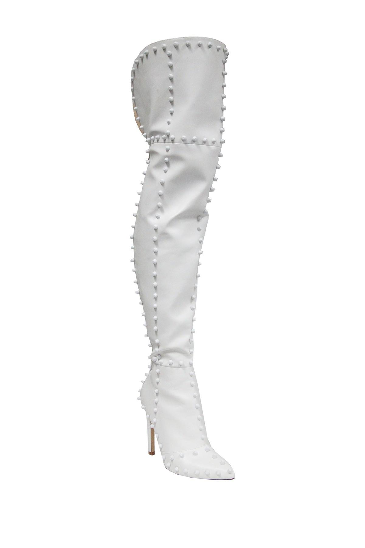 Cape Robbin Mini Patent Over-the-Knee Boot 3ZvQdwEOU