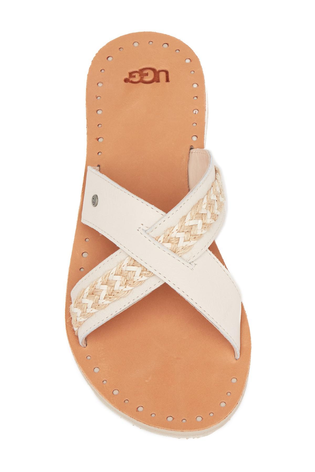 95543559dd3 Lyst - UGG Lexia Crisscross Sandal