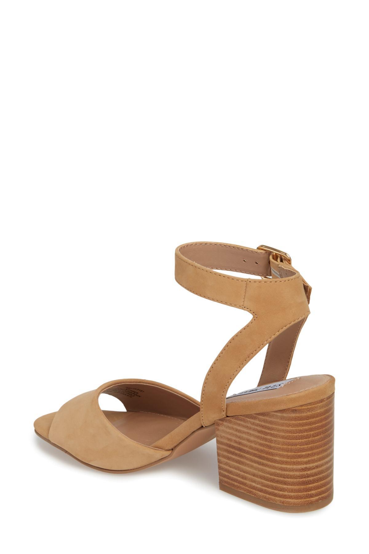 8264c31fa38 Lyst - Steve Madden Devlin Block Heel Sandal (women) in Brown