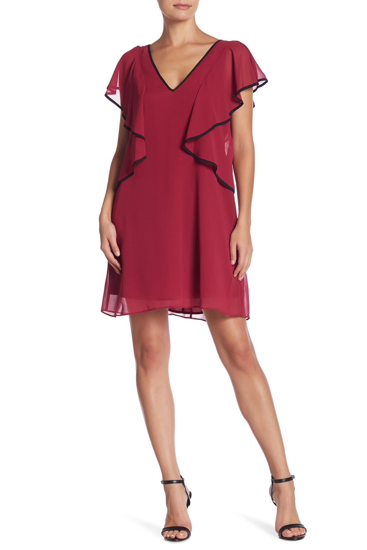 d3fe7c809 BCBGeneration. Women's Red Ruffle Sleeve Dress. $98 $50 From Nordstrom Rack