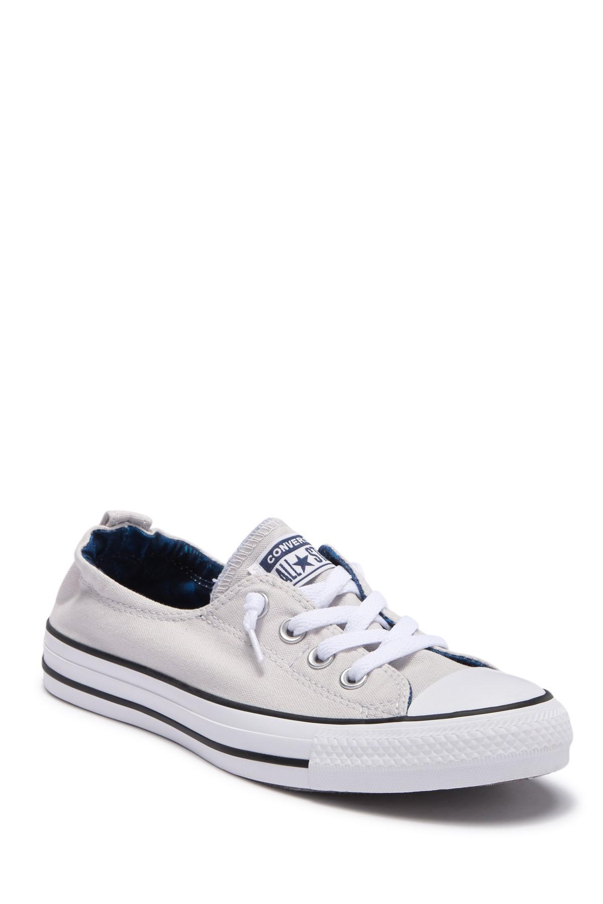f896948fda038d Converse - White Chuck Taylor All Star Shoreline Slip On Sneaker (women) -  Lyst