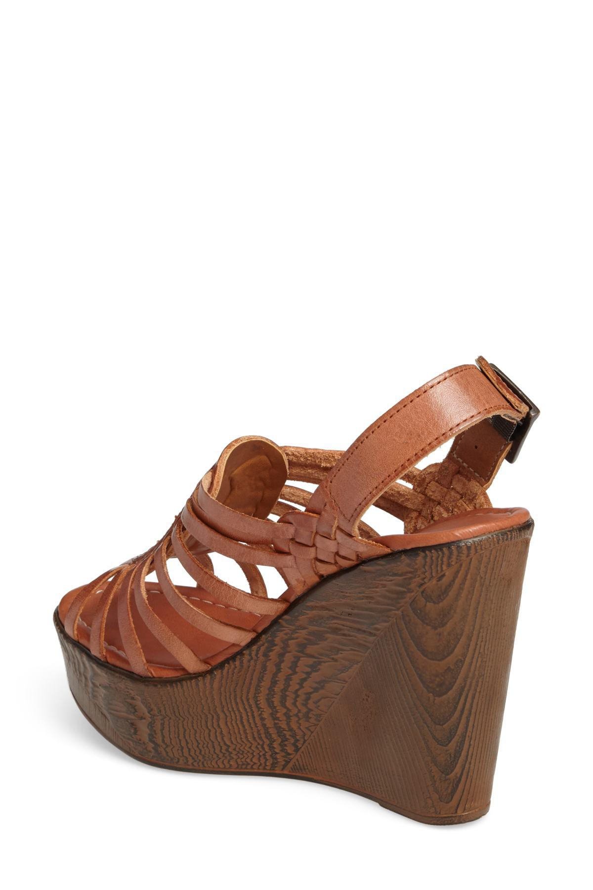 b3ca828c62e Lyst - Very Volatile Prolific Wedge Sandal (women) in Brown