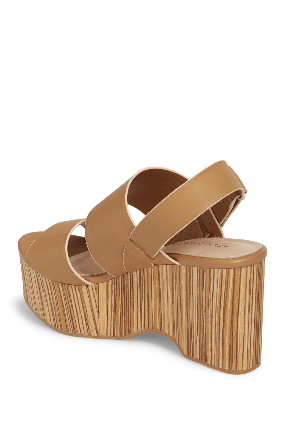 01ad1489d7c Kelsi Dagger Brooklyn - Brown Nash Platform Wedge Sandal (women) - Lyst.  View fullscreen