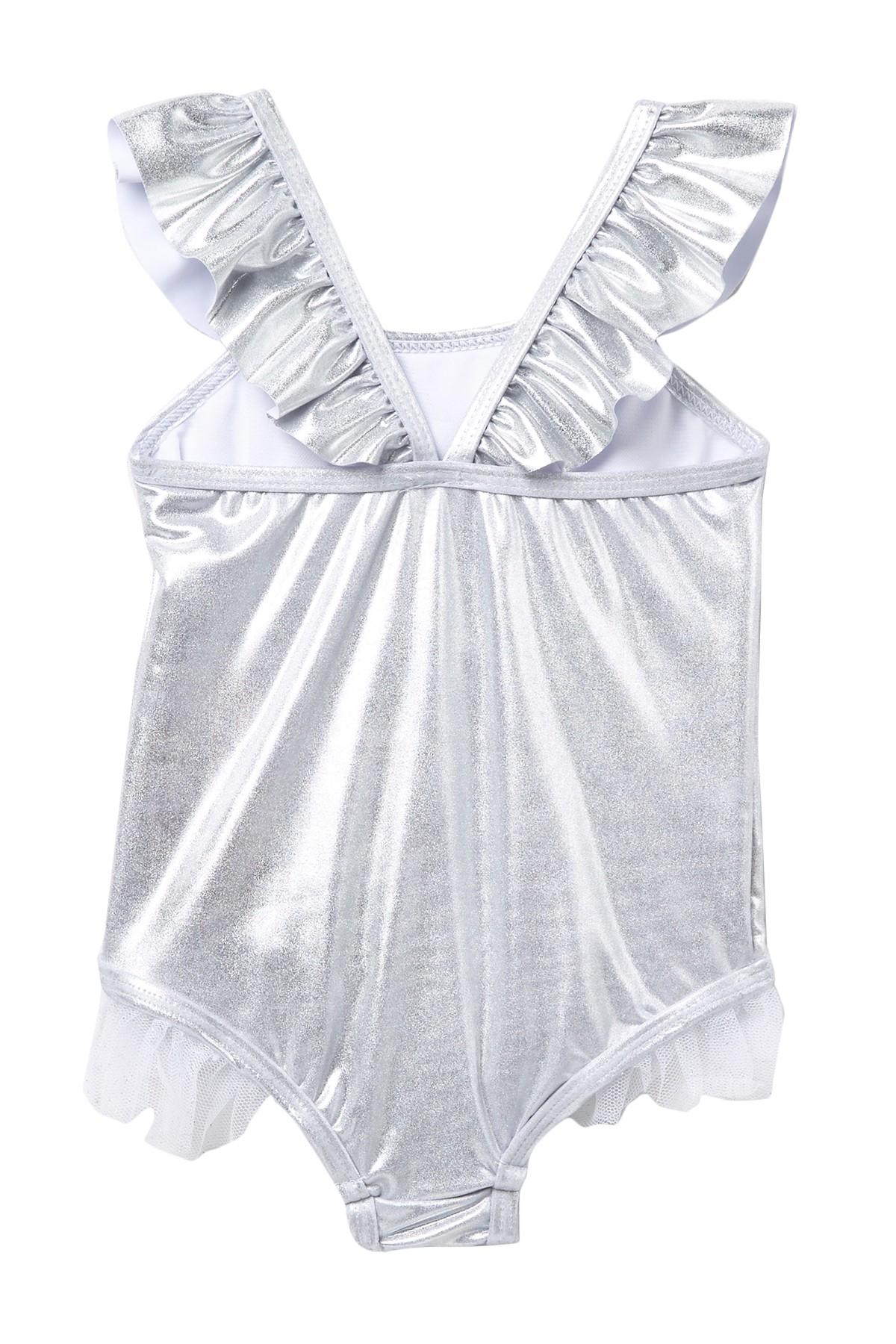 64492af8f3 Lyst - Betsey Johnson 1-piece Swimsuit (baby Girls) in Metallic