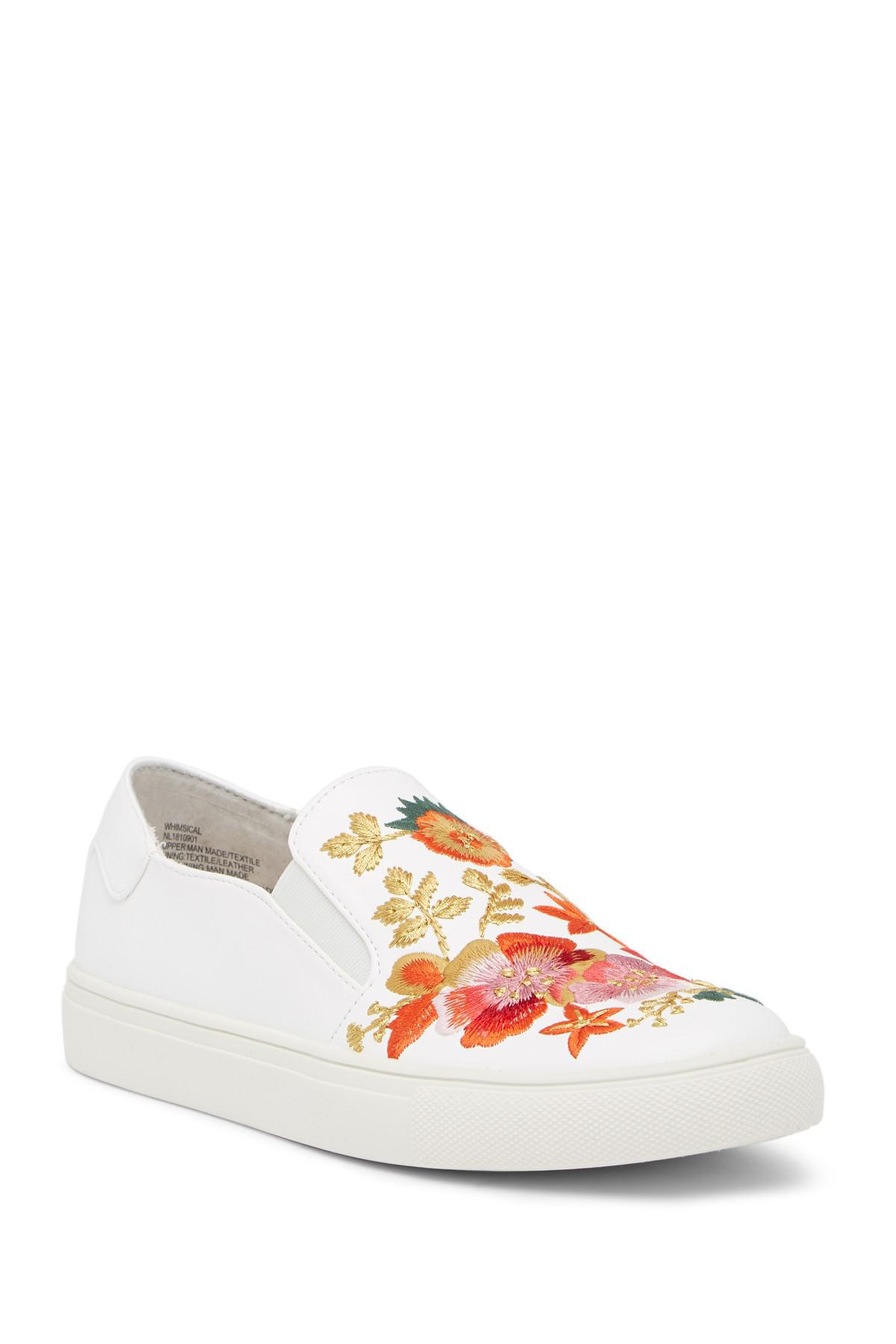 ae5fb05b6f2 Nanette Nanette Lepore Whimsical Embroidered Slip-on Sneaker in ...
