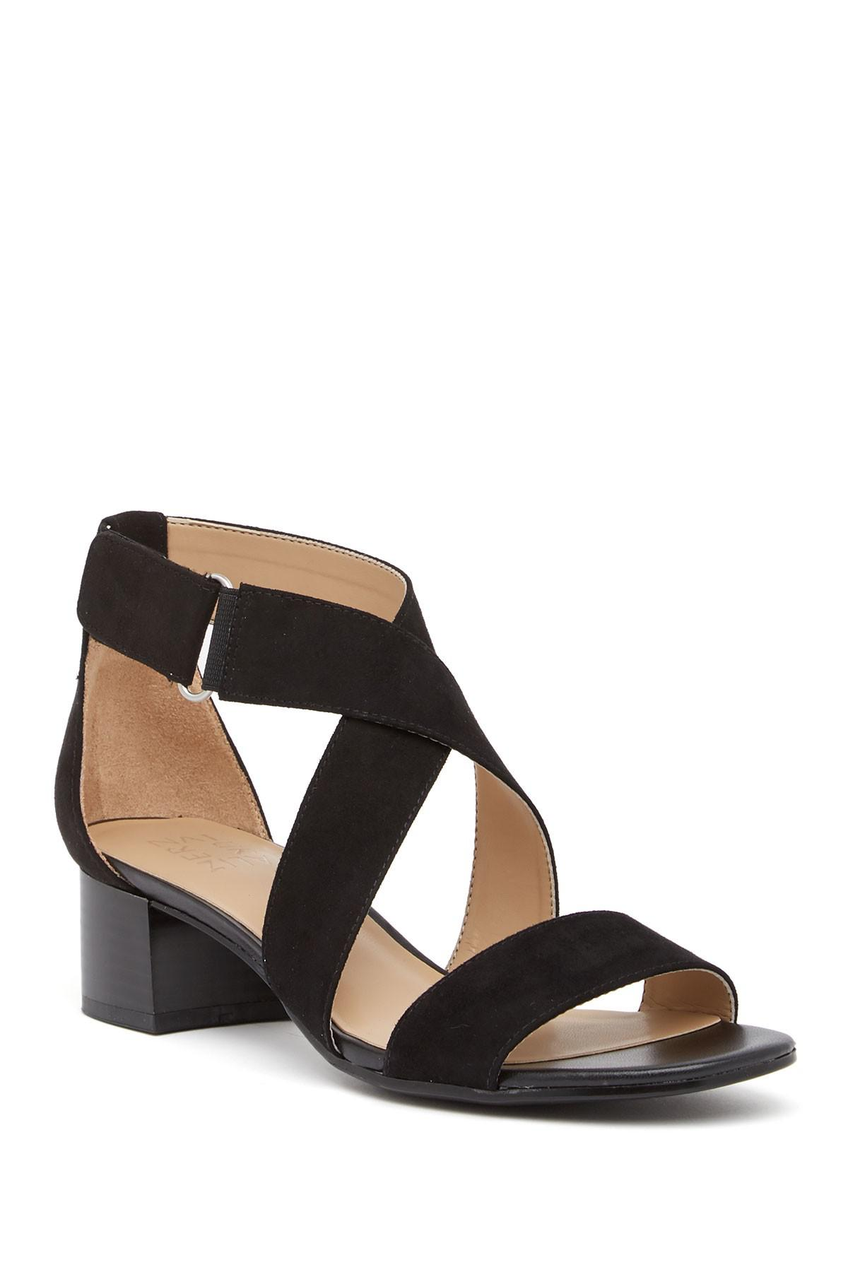 a6fa891f99f Lyst - Naturalizer Adele Block Heel Sandal - Wide Width Available in ...