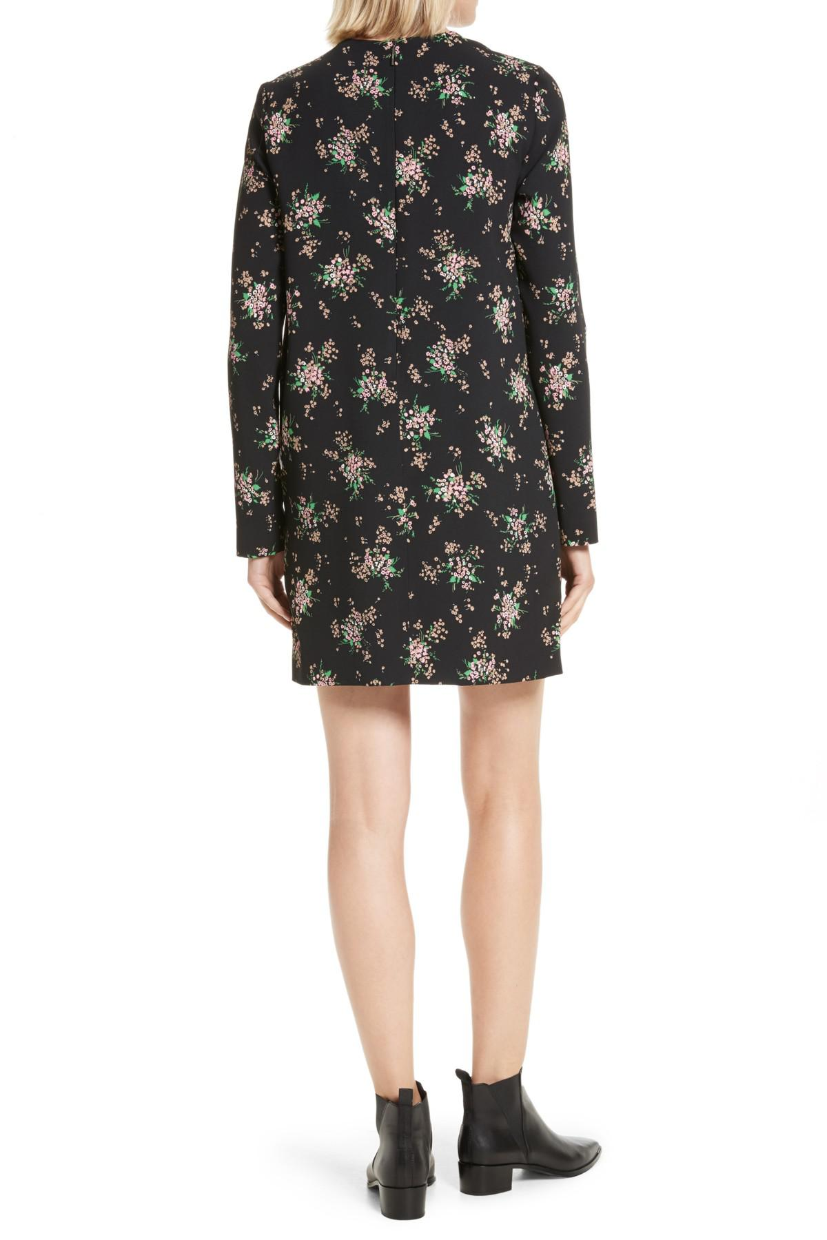 Msgm Woman Ostritch Feather-trimmed Floral-print Crepe Mini Dress Black Size 40 Msgm Free Shipping Sneakernews Buy Cheap Footlocker Pictures Cheap Sale For Sale Authentic mP8orFTQAo