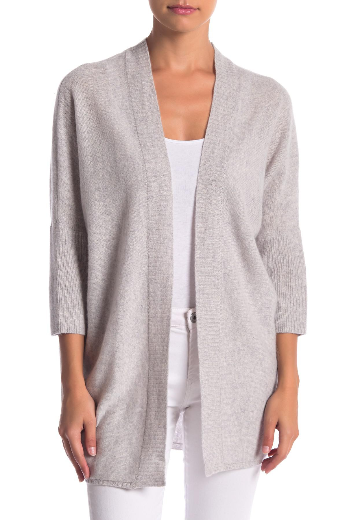 Lyst - Halogen Cashmere Cardigan in Gray afb69e88f