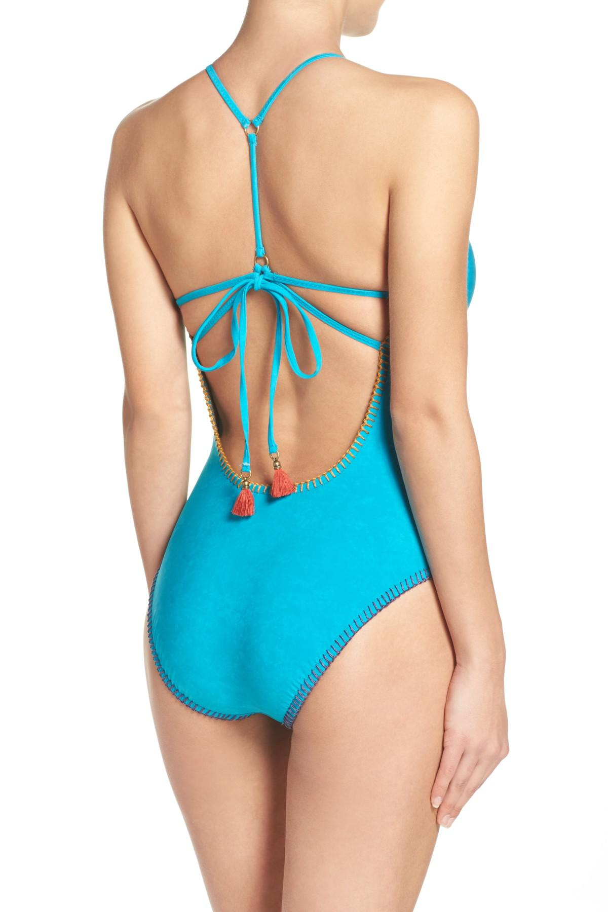 abe69a1bde Lyst - Nanette Lepore One-piece Swimsuit in Blue