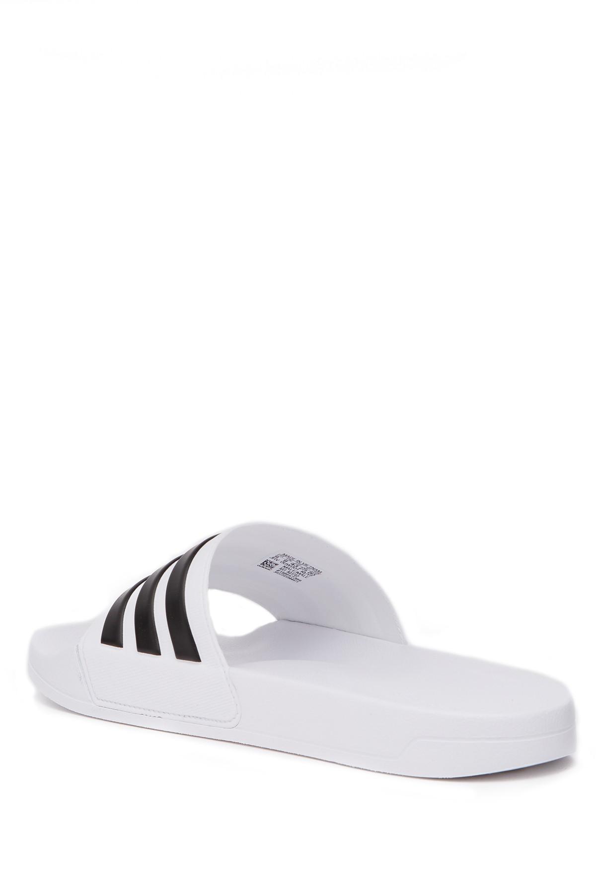 b7907ce272a8 Lyst - adidas Adidette Shower Slide Sandal for Men