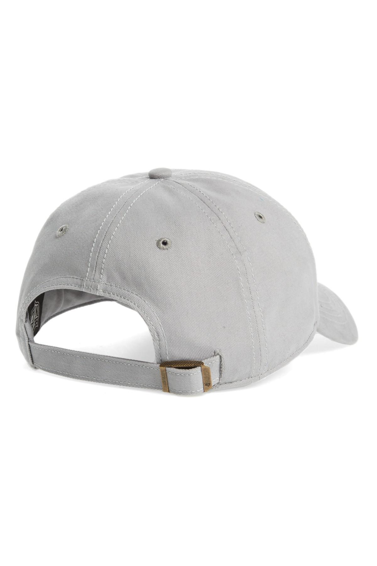 06f9422129381 47 Brand Miata Oakland Raiders Baseball Cap in Gray for Men - Lyst