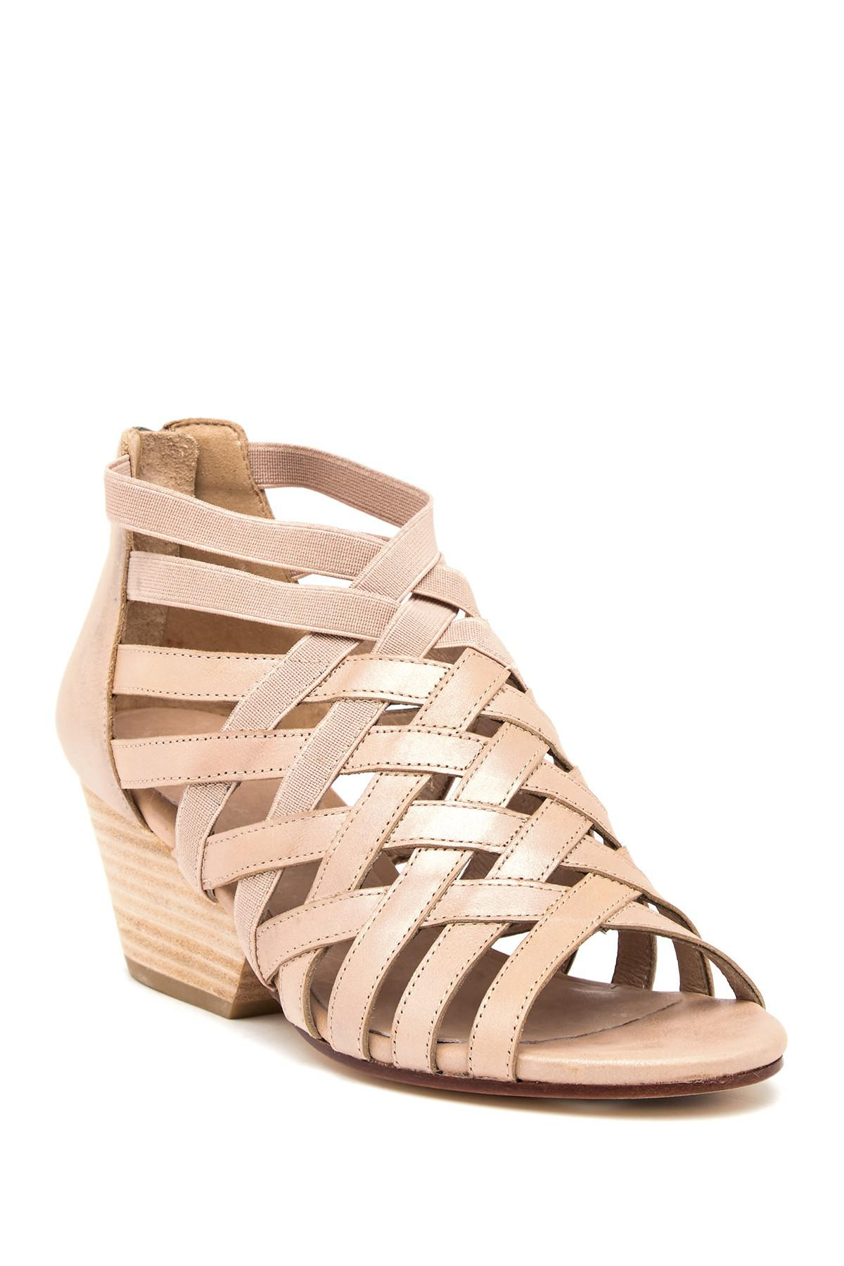 Eileen Fisher Oodle Metallic Sandal 6Rd1p