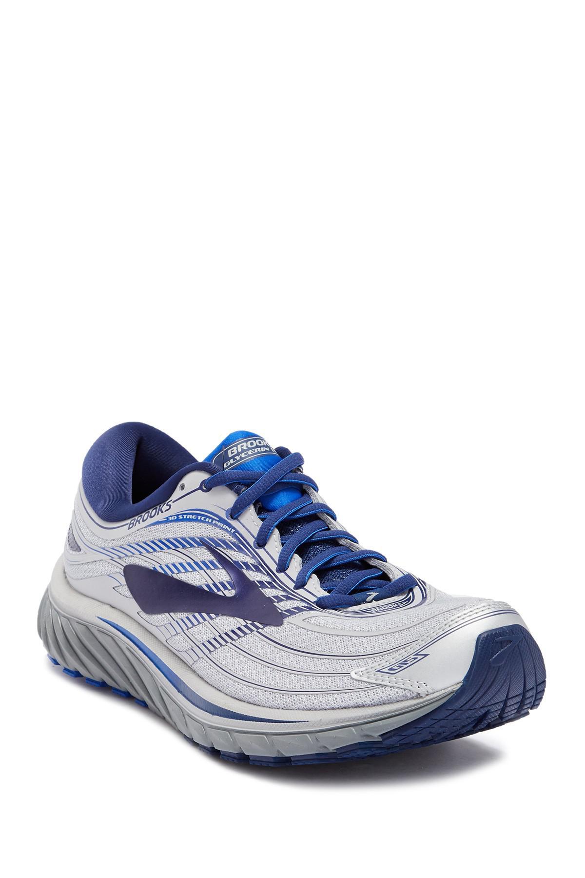 ef81b81bddb69 Lyst - Brooks Glycerin 15 Running Sneaker in Blue for Men