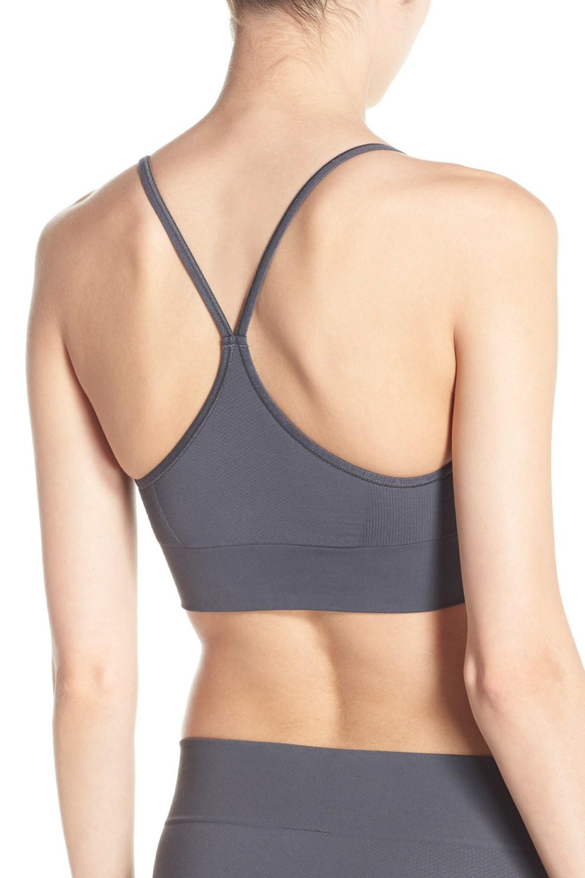 567ced3312 Spanx - Gray Spanx Lounge-hooray! Bralette - Lyst. View fullscreen