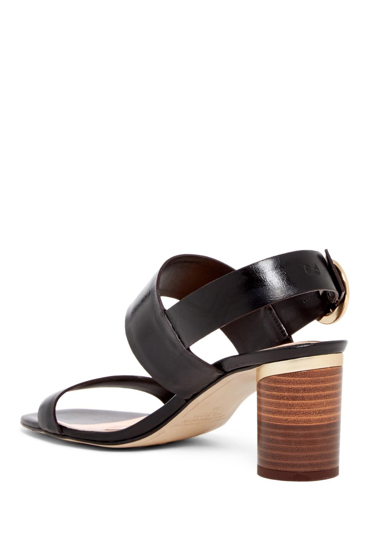 a80143e19c489 ... Azmara Block Heel Sandal - Lyst. View fullscreen