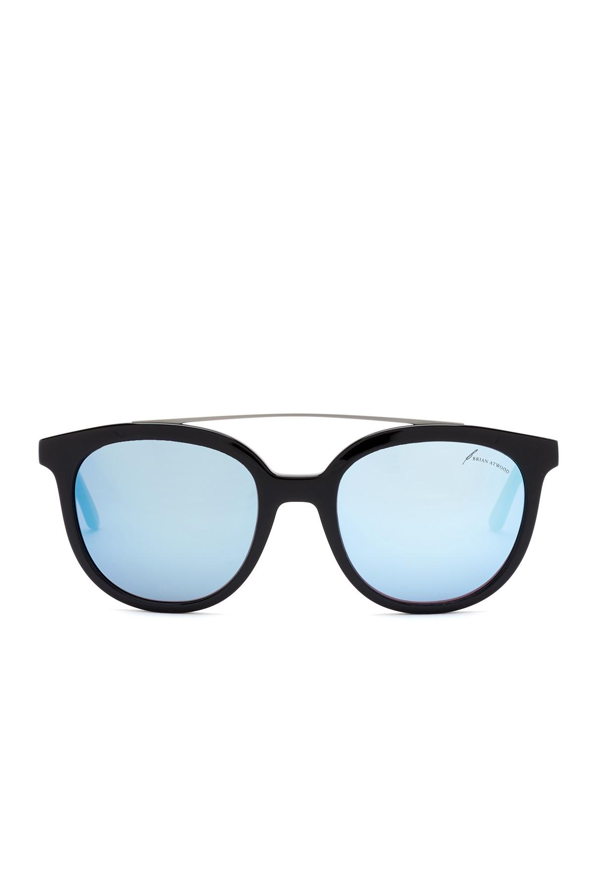 09322dc1c11 Lyst - B Brian Atwood Women s Acetate Round With Metal Top ...