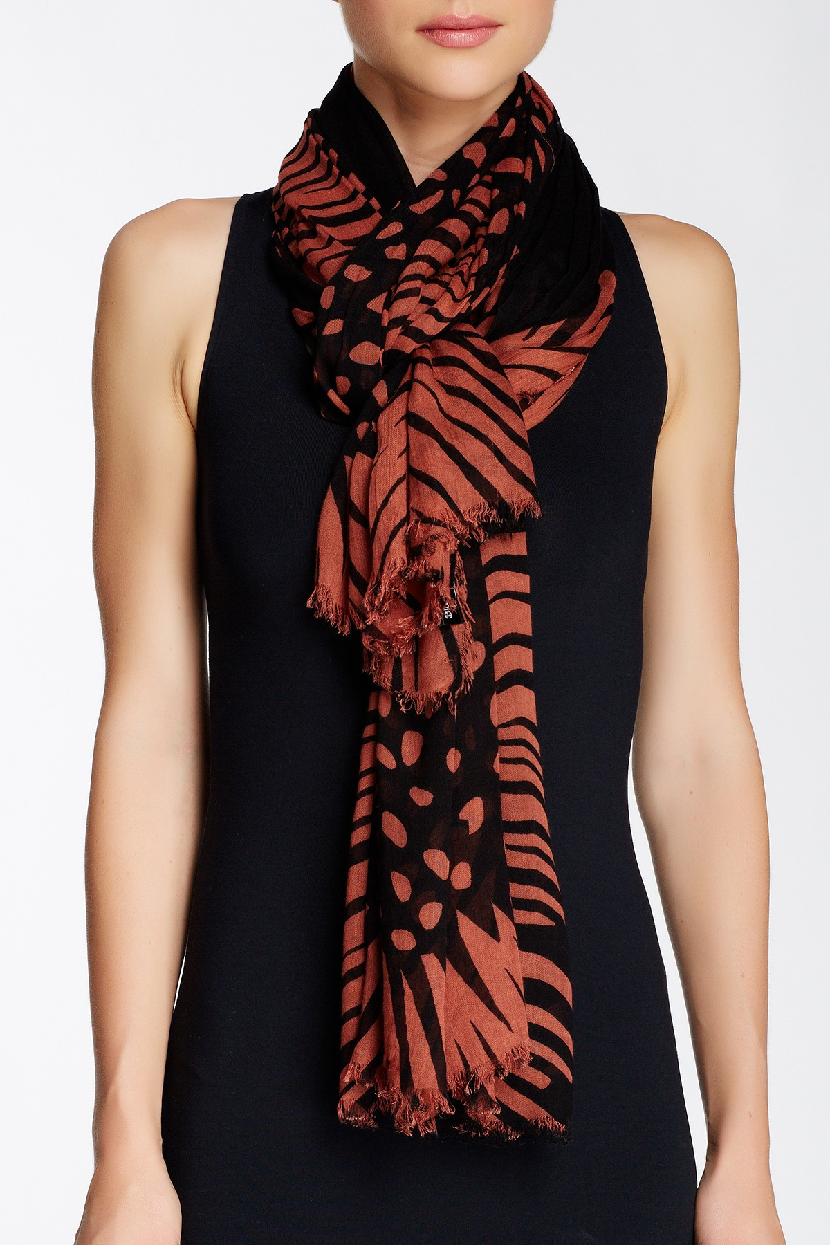 blue pacific oversized gerber blend scarf