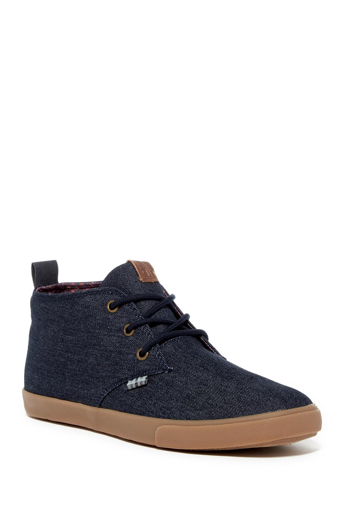 ben sherman bristol chukka sneaker in blue for men lyst