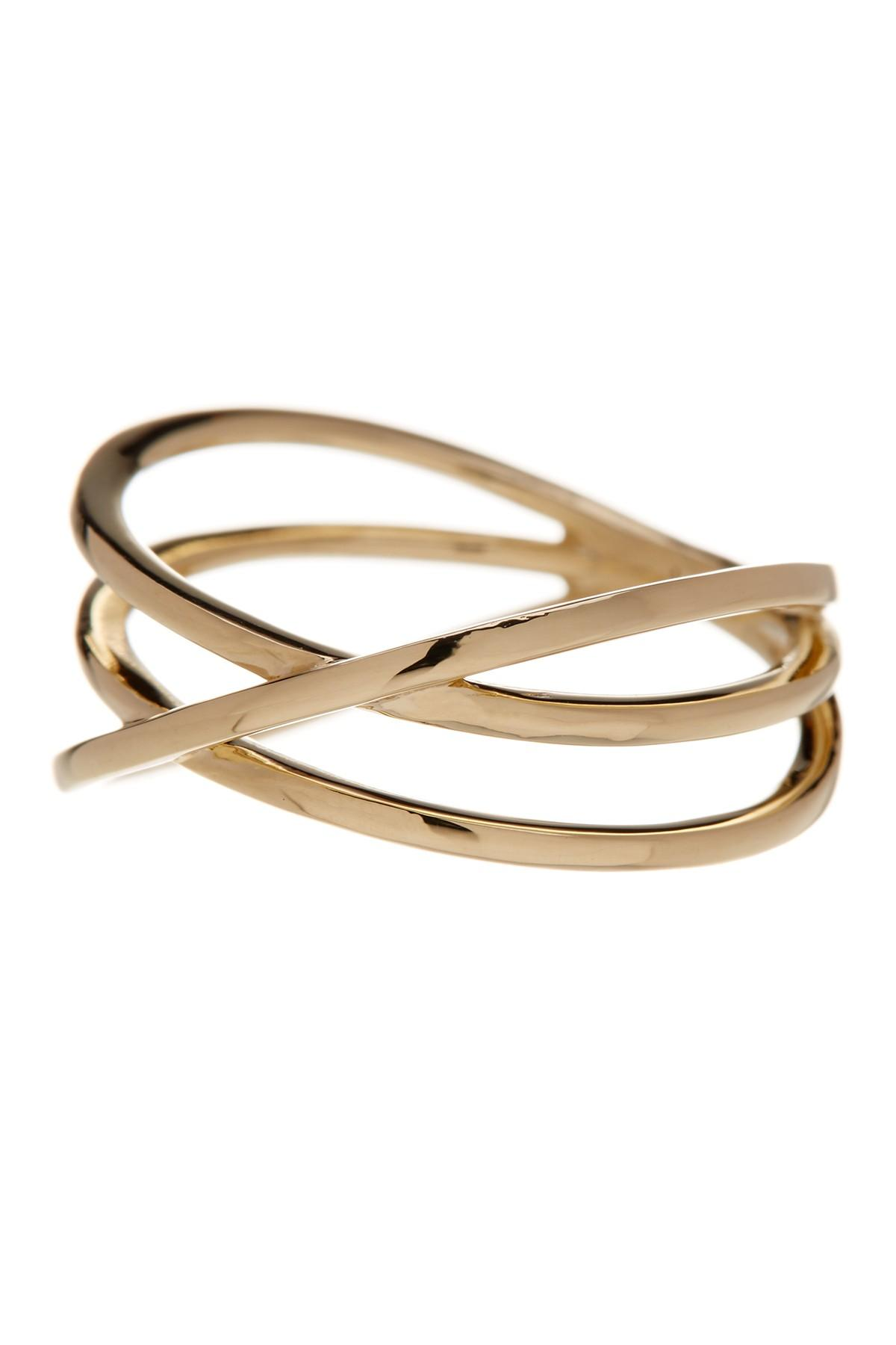 levy jewelry lyst bony levy 14k gold crossover ring in metallic 788
